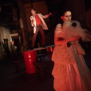 "MINNEAPOLIS, MN OCTOBER 27: Frank Theatre's A Good Person of Setzuan"" dress rehearsal on October 27, 2016 in Minneapolis, Minnesota. © Tony Nelson"